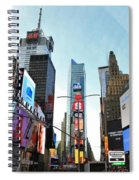 Times Square New York City Spiral Notebook