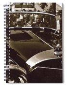 Tom Barrett And Family  High Bidder  Earl Clark At $153,000 Of Adolf Hitlers Mercedes Benz 770k Spiral Notebook