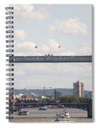 Tower Bridge.  Spiral Notebook