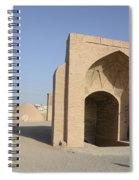 Towers Of Silence. Yazd, Iran Spiral Notebook