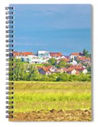 Town Of Vrbovec Landscape And Architecture Spiral Notebook