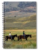 Trail Ride Spiral Notebook
