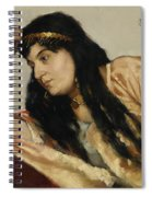 Turkish Woman Spiral Notebook