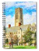University Hall Spiral Notebook