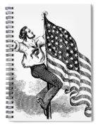 U.s. Flag, 19th Century Spiral Notebook