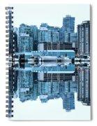 Vancouver Skyline Canada Spiral Notebook