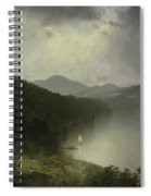 View On The Hudson Spiral Notebook
