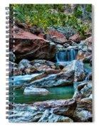 Virgin River Zion  Spiral Notebook
