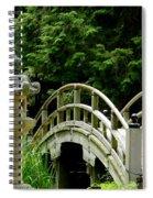 Virginia Bridges -japanese Garden Spiral Notebook