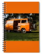 Volkswagen Bus T2 Westfalia Spiral Notebook