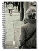Walking Spiral Notebook