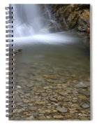 Waterfall, Quebec Spiral Notebook