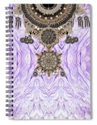 Wave And Jewels Spiral Notebook