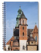 Wawel Cathedral In Krakow Spiral Notebook