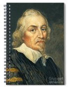 William Harvey, English Physician Spiral Notebook