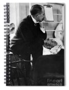 William Osler, Canadian Physician Spiral Notebook