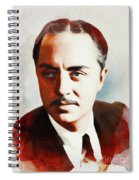 William Powell, Hollywood Legend Spiral Notebook