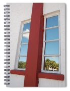 Window T Glass Spiral Notebook