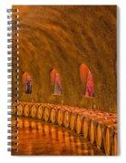Wine Cave Spiral Notebook