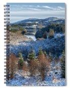 Winter Wonderland In Central Scotland Spiral Notebook