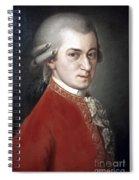 Wolfgang Amadeus Mozart Spiral Notebook