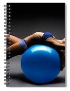 Woman On A Ball Spiral Notebook