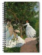 Women In The Garden Spiral Notebook