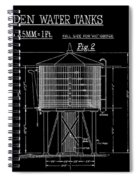 Wooden Water Tanks Spiral Notebook