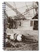 World War I: Zeppelin Spiral Notebook