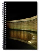 World War II Memorial - Stars Spiral Notebook