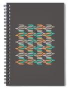 Zappwaits Retro Spiral Notebook