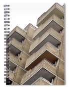 Balconies Spiral Notebook