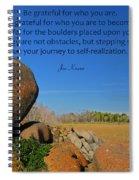 20- Be Grateful Spiral Notebook