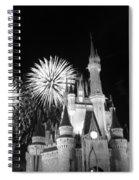 Cinderella Castle Spiral Notebook