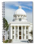 Facade Of A Government Building Spiral Notebook