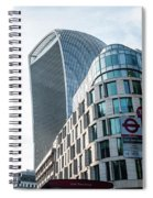 20 Fenchurch Street A Commercial Skyscraper In London Spiral Notebook