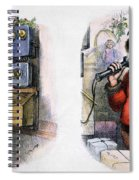 Thomas Nast: Santa Claus Spiral Notebook