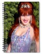 20000 Dollar Dress Of Sofia Metal Queen Spiral Notebook