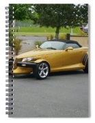 2002 Chrysler Prowler Randall Spiral Notebook