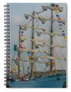 2004 Tall Ships Spiral Notebook