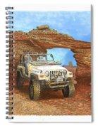 2005 Jeep Rubicon 4 Wheeler Spiral Notebook