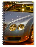 2006 Chicago 2006 Bentley Continental Gtauto Show Spiral Notebook