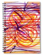 2007 Abstract Drawing 2 Spiral Notebook