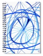 2007 Abstract Drawing 3 Spiral Notebook