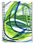 2007 Abstract Drawing 4 Spiral Notebook