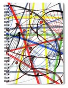2007 Abstract Drawing 7 Spiral Notebook