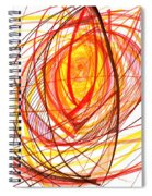 2007 Abstract Drawing 8 Spiral Notebook