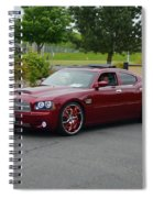 2007 Dodge Charger Couture Spiral Notebook