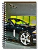 2007 Jaguar Xkr Convertible R No 1 Spiral Notebook