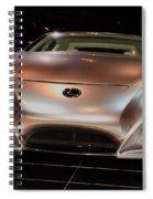 2007 Lexus Lf-a Exotic Sports Car Concept No 2 Spiral Notebook